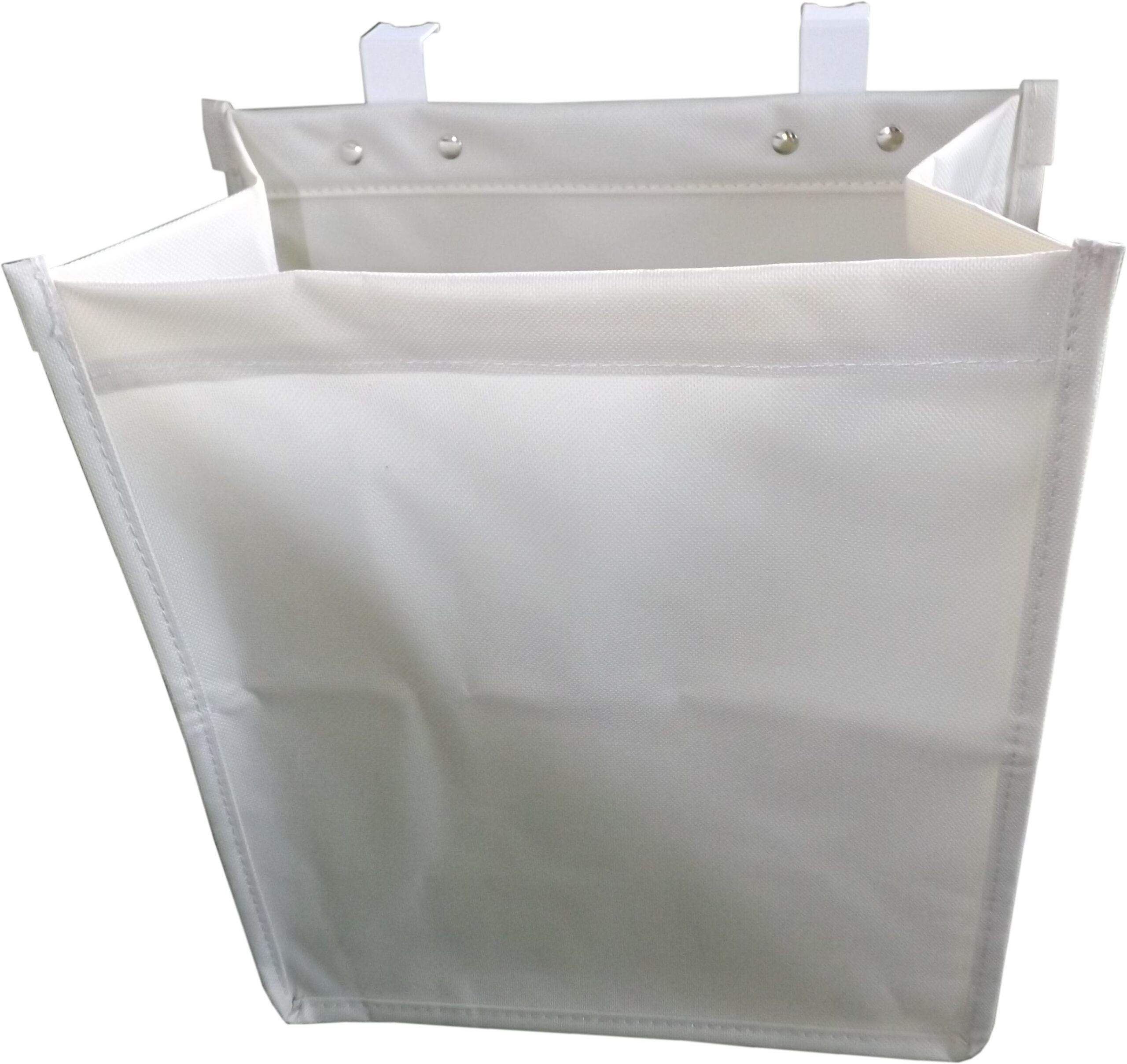 Kitchen Hook Over Cupboard Recycling Storage Bags, 2 x 10 Litre Bags, Beige